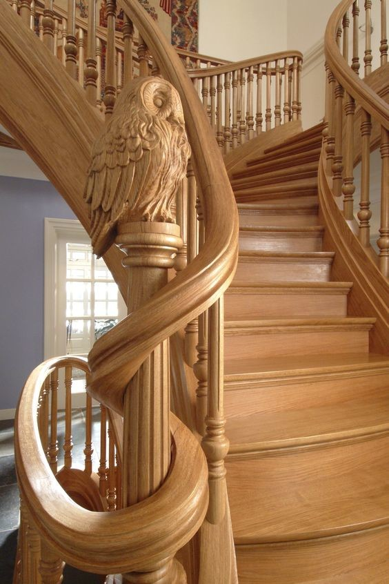 Красивые лестницы от которых захватывает дух