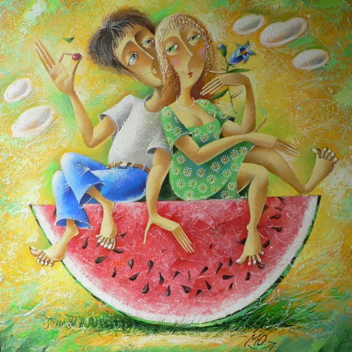 О любви с улыбкой: шуточные картины о самом светлом чувстве