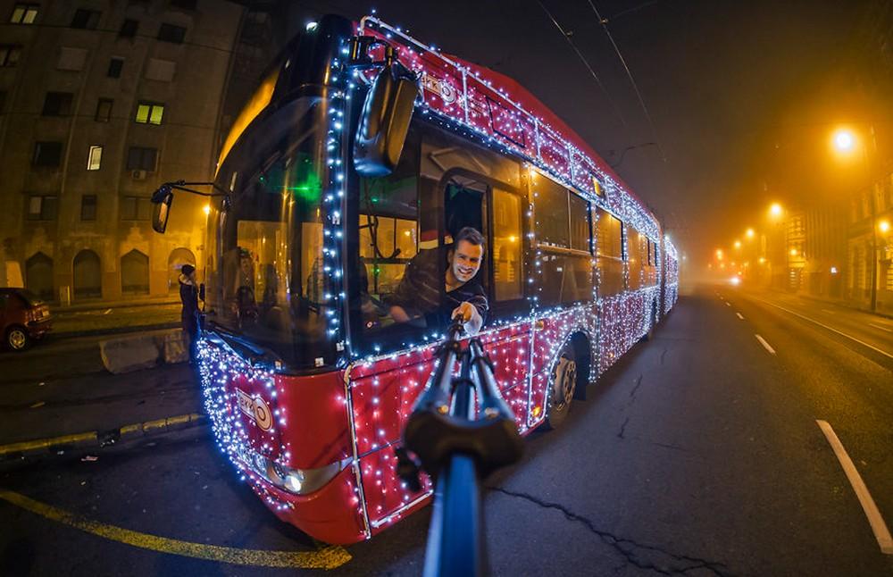 Праздничный Будапешт перед Рождеством