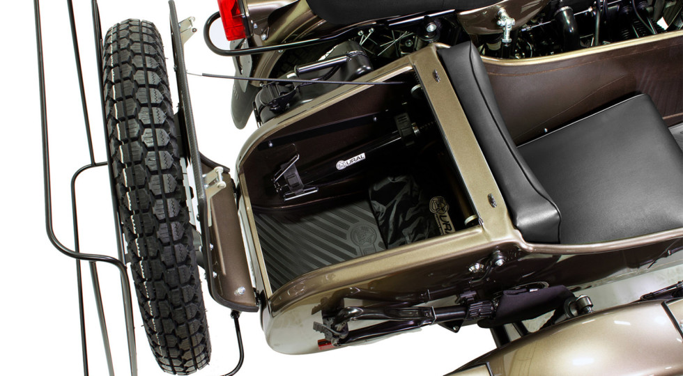 В честь 75-летия Урал выпустил спецверсию мотоцикла с коляской