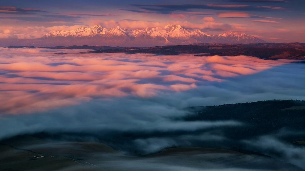 Великолепные пейзажи от Йозефа Мачутек