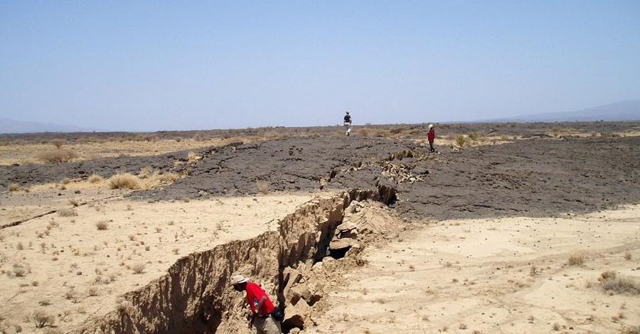 Рождение океана: как разделяется Африка