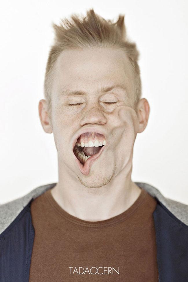 Воздушная струя в лицо от литовского фотографа
