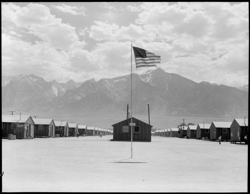 Американские концлагеря для японцев времен Второй мировой