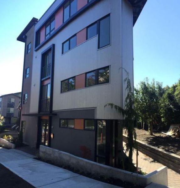 Узкие апартаменты в Сиэттле