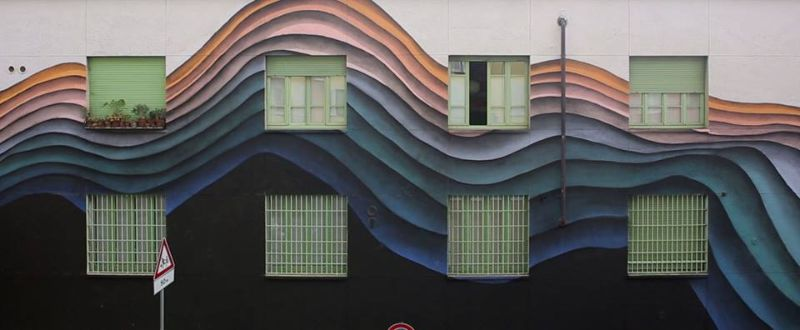3D граффити от немецкого уличного художника