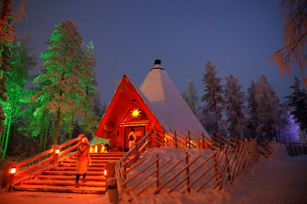 Деревня Санта Клауса в Лапландии