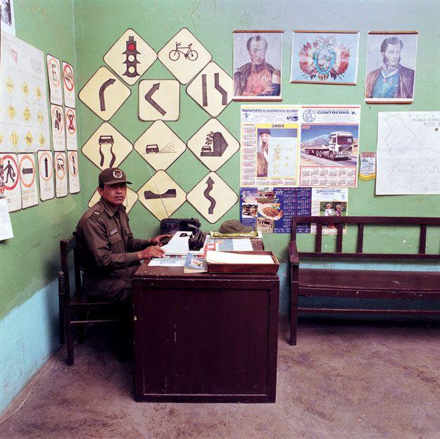 Кабинеты чиновников из разных стран 3-го мира