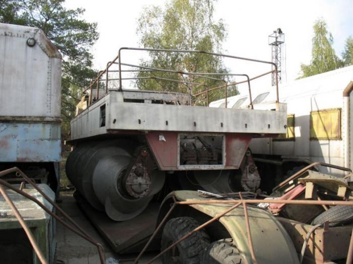 Советские экспериментальные вездеходы