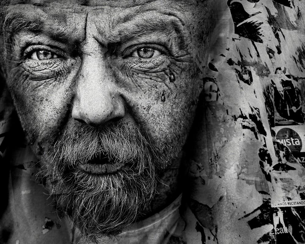 Выразительные портреты бездомных со всего мира