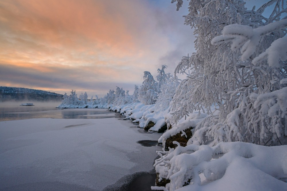 фотографии зимнего пейзажа только фильмы