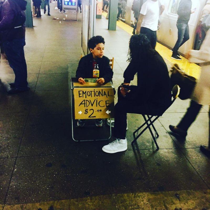 11-летний школьник подрабатывает психологом