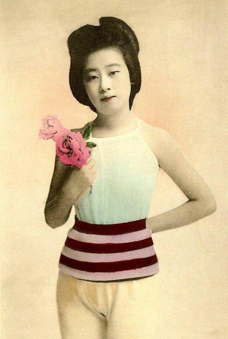 Японский пин-ап в 1870-1920 годы