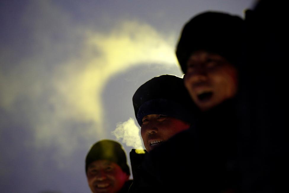 Подготовка к Харбинскому международному фестивалю льда и снега