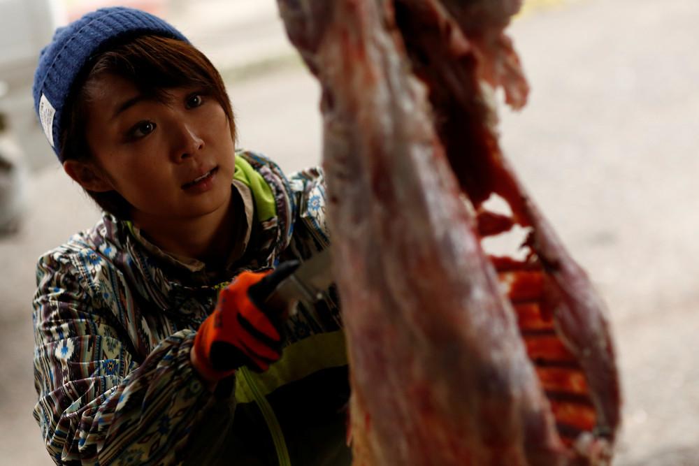 Японские женщины-охотники