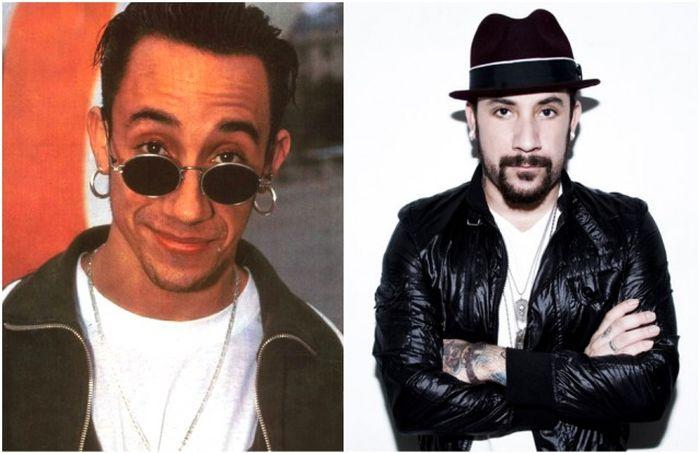 Backstreet Boys и Spice Girls тогда и сейчас