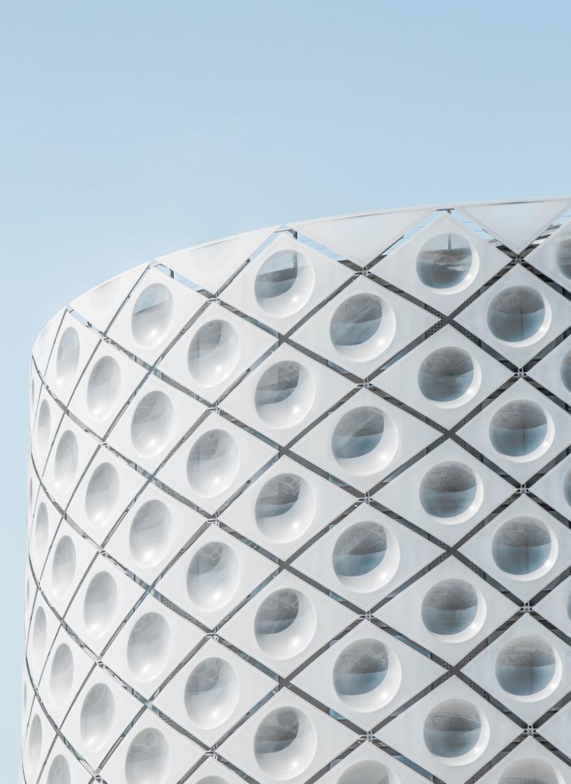 Геометрическая красота архитектуры Мадрида