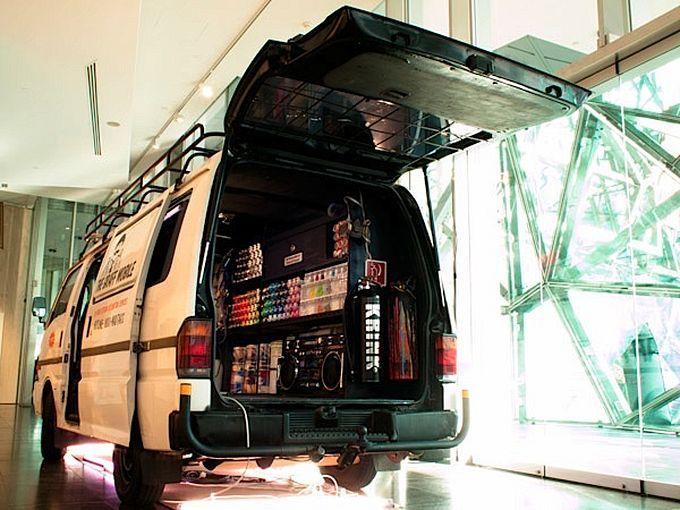Автомобиль для уличного художника - Graff Mobile
