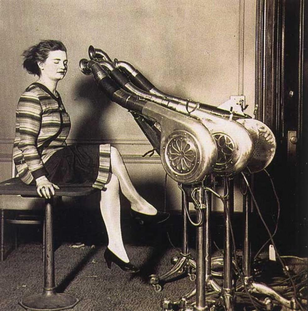 Как выглядели первые процедуры красоты