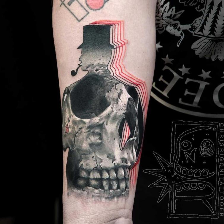 Ультраяркие татуировки от австралийского художника