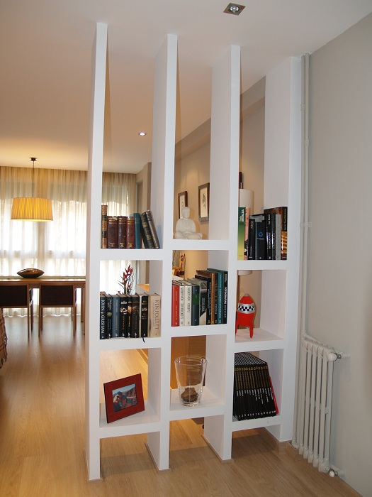 Оригинальные идеи зонирования пространства в комнатах