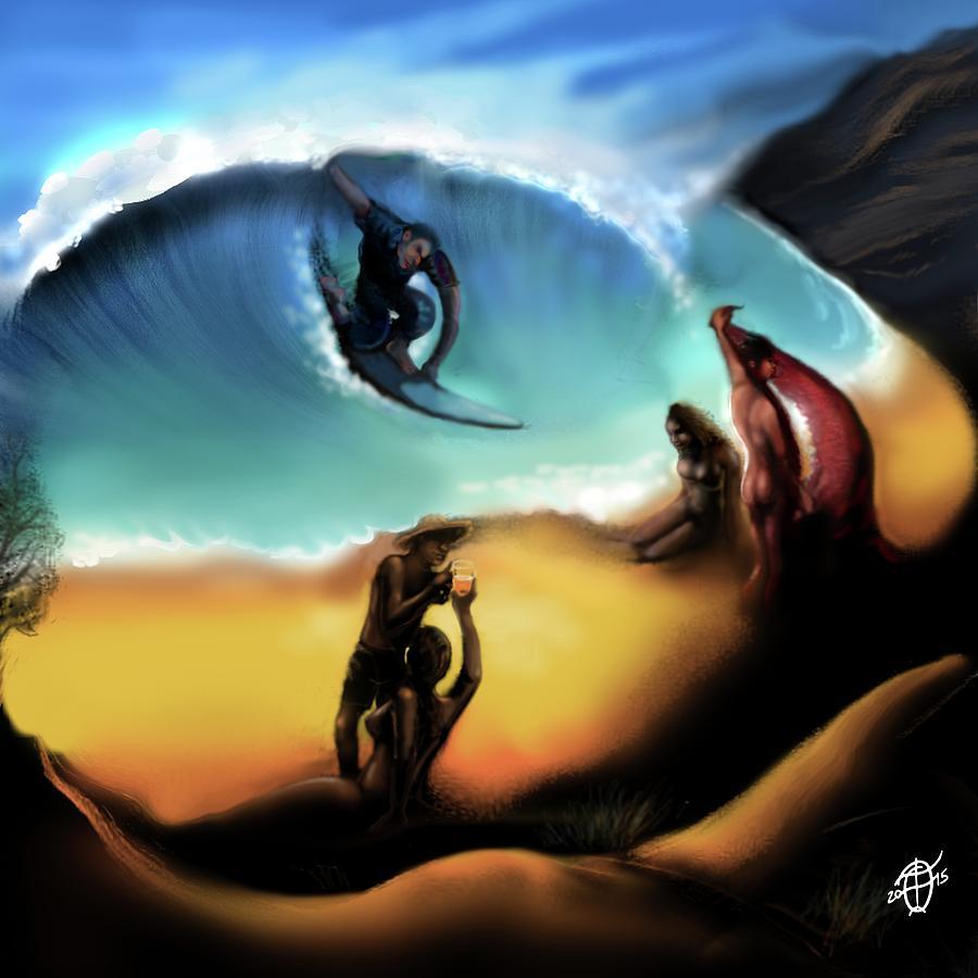 Удивительные картины-иллюзии от Фрэнка Франклина