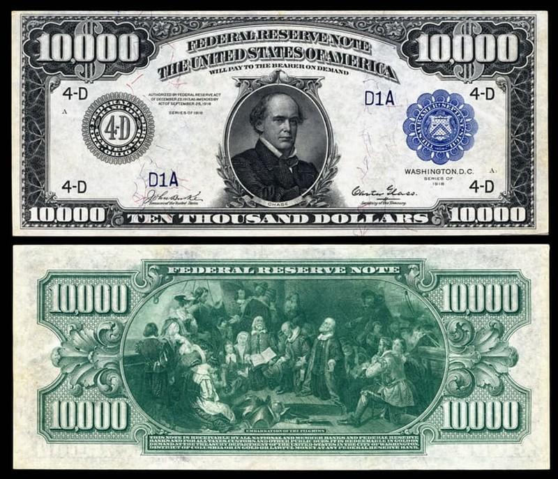 Интересные подробности об американской валюте