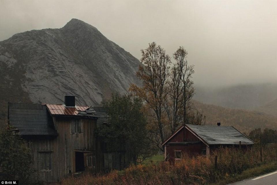 Заброшенные дома Норвегии