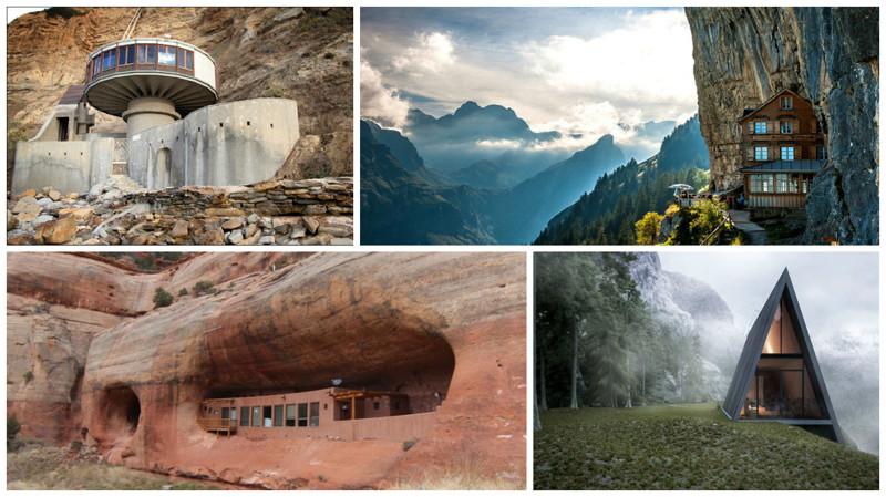 Потрясающие дома, построенные самой природой