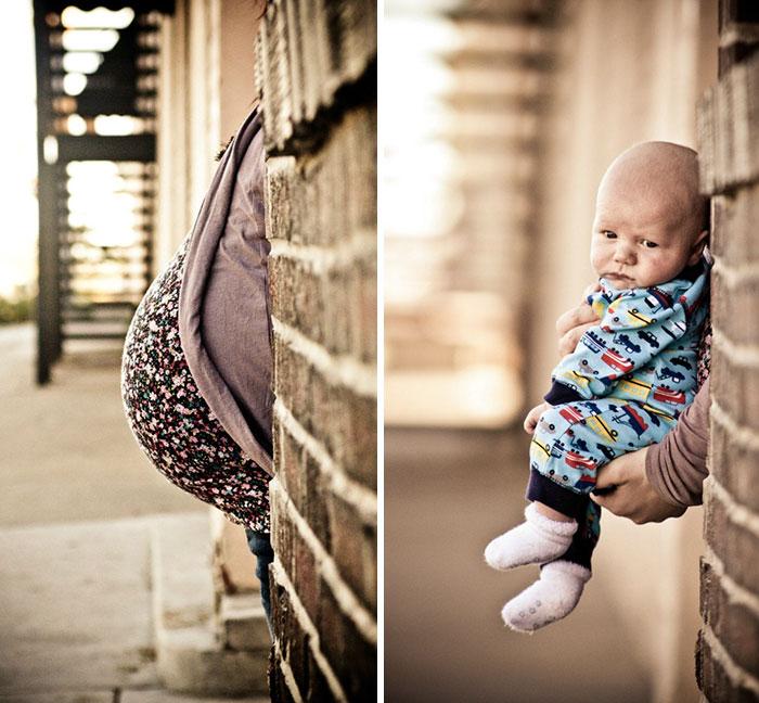 Прекрасные фото во время беременности и после нее