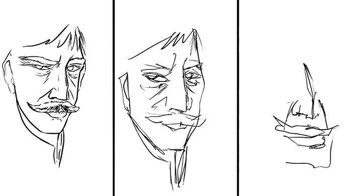 Что можно нарисовать за 10 минут, за 1 минуту и за 10 секунд