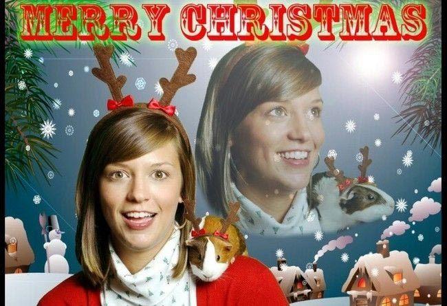 Смешные и неловкие рождественские фотографии одиноких людей