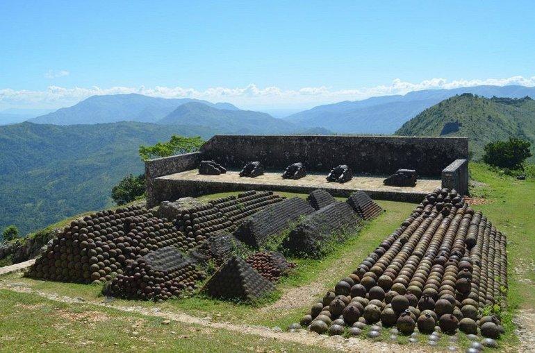 Цитадель Лаферьер на Гаити
