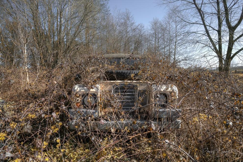 Снимки заброшенных авто от Провоста Кеннета