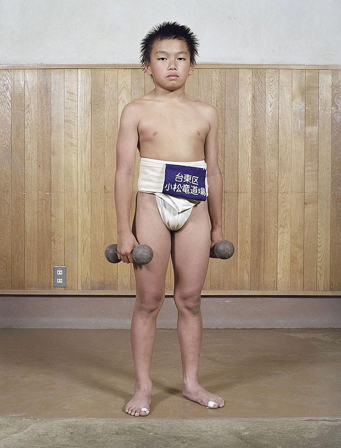 Борцы сумо в юности