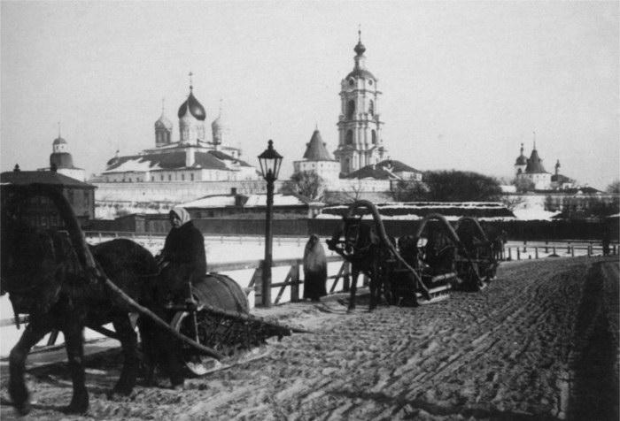 Дореволюционная Москва в фотографиях Сергея Челнокова