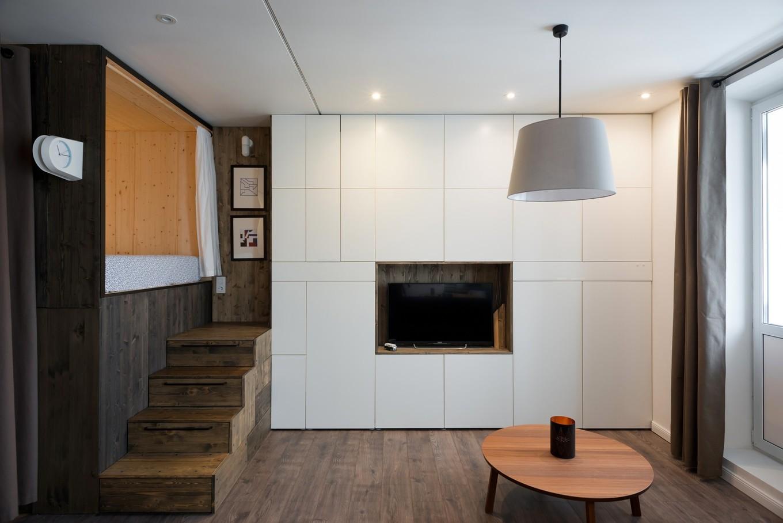 Квартира площадью 35 кв. метров в Москве