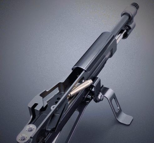Принцип работы различных видов оружия в гифках