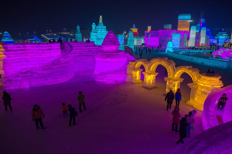 Харбинский фестиваль льда и снега 2017