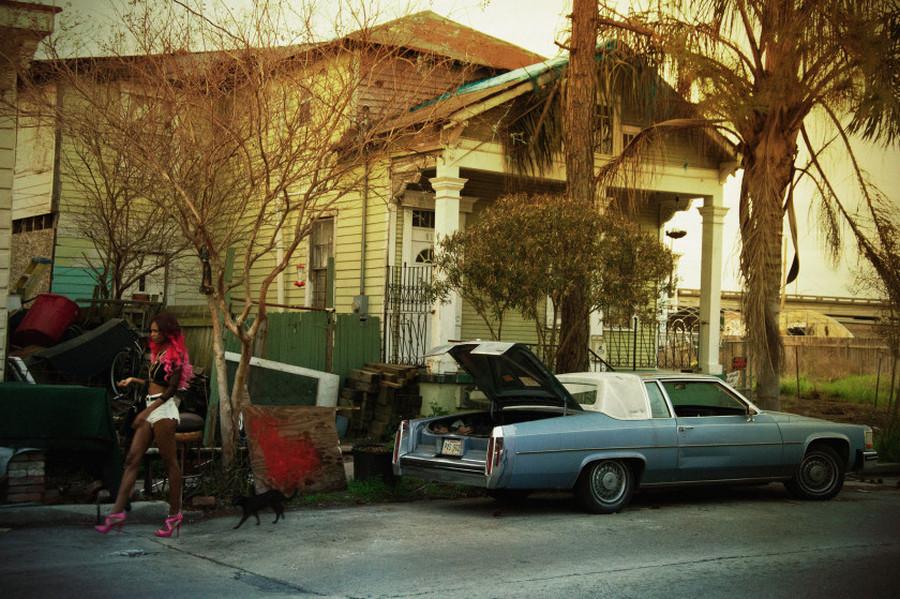 Жизнь стриптизёрш и представителей уличной культуры американского Юга