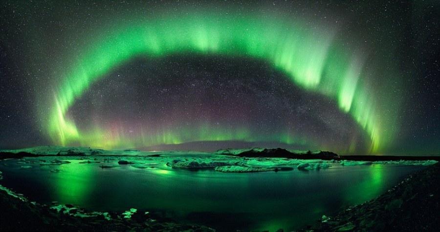 Места, где можно увидеть Северное сияние