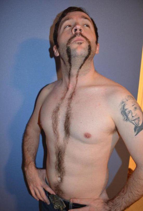 Парни со стрижками на груди