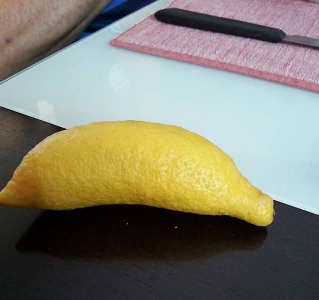 Плоды странной и причудливой формы