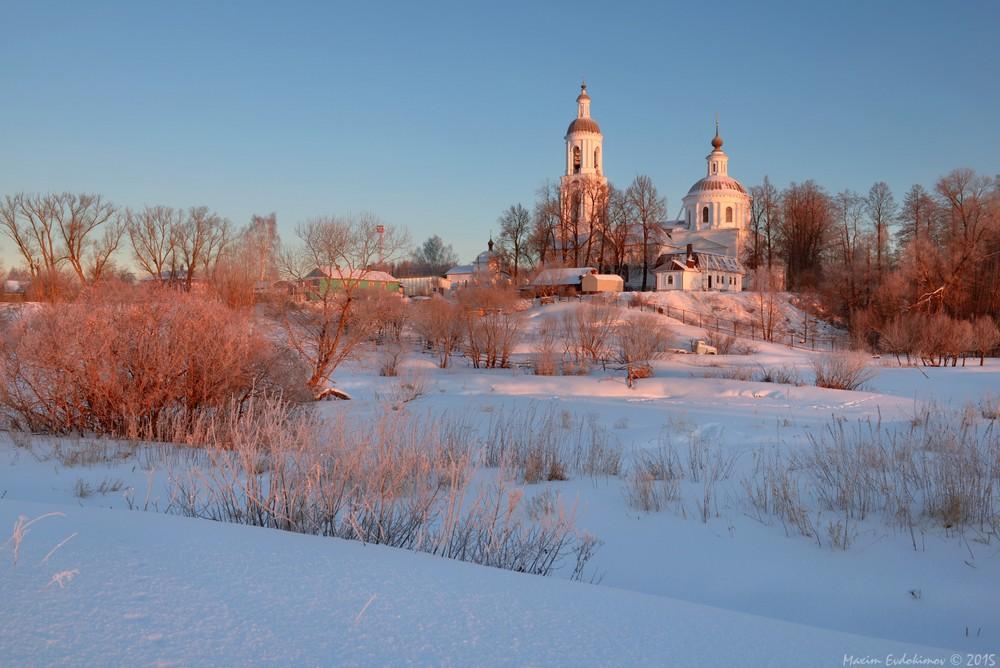 Зимние пейзажи от Максима Евдокимова