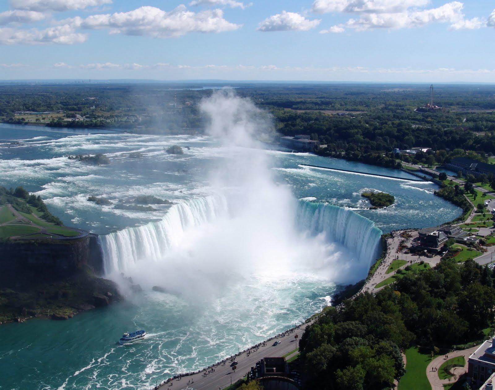 10 самых красивых водопадов в мире