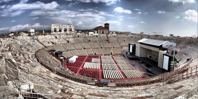 4 древнеримских амфитеатра, которые функционируют по сей день