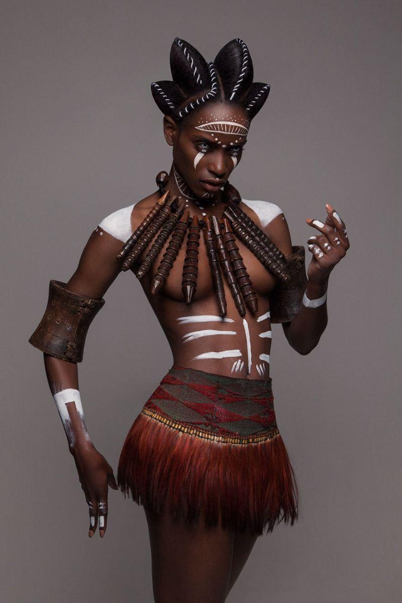 Поразительные афро-стрижки от финалиста британского конкурса парикмахеров