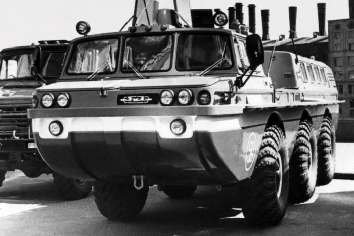 Самые удивительные машины советской марки ЗиЛ