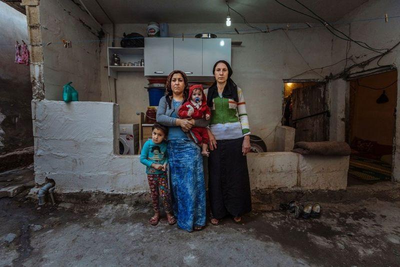 Люди, которые остались без дома, в фотографиях Мьюза Мохаммеда
