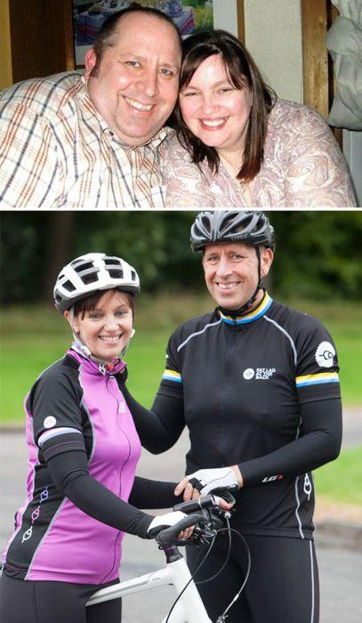 Невероятные преображения пар, сбросивших лишний вес